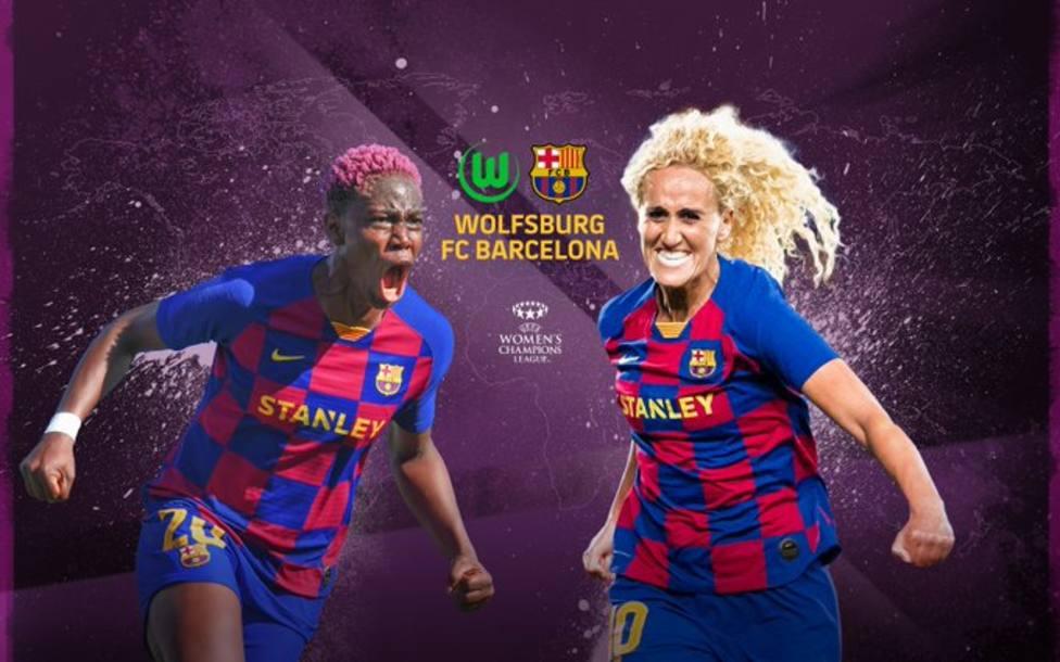 El Barça busca la final de la Champions femenina contra el potente Wolfsbug