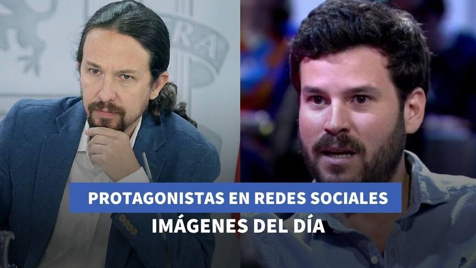 Imágenes del día: el nuevo detalle en el look de Pablo Iglesias y la confesión de Willy Bárcenas