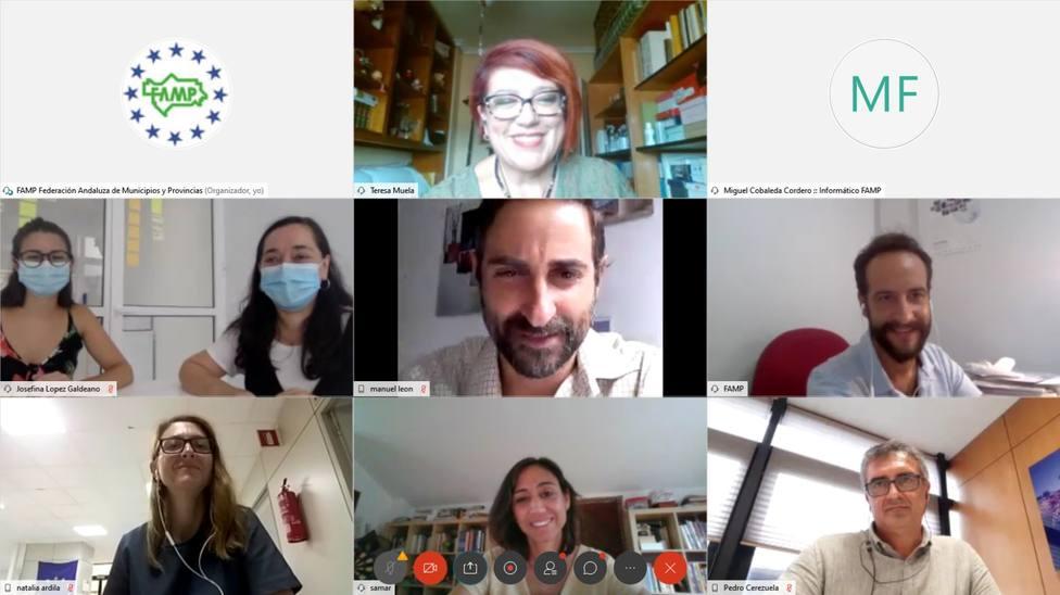 La FAMP presenta el proyecto europeo MedSNAIL a la Junta de Andalucía