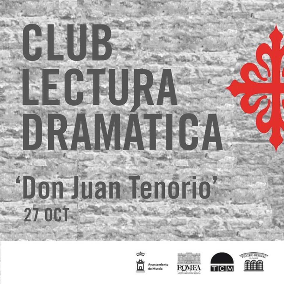 Los Teatros Municipales recuperan el Club de Lectura con un sesión especial de Don Juan Tenorio
