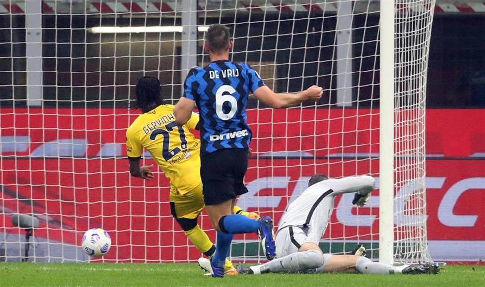 El Inter sufre para empatar con el Parma antes de recibir al Real Madrid