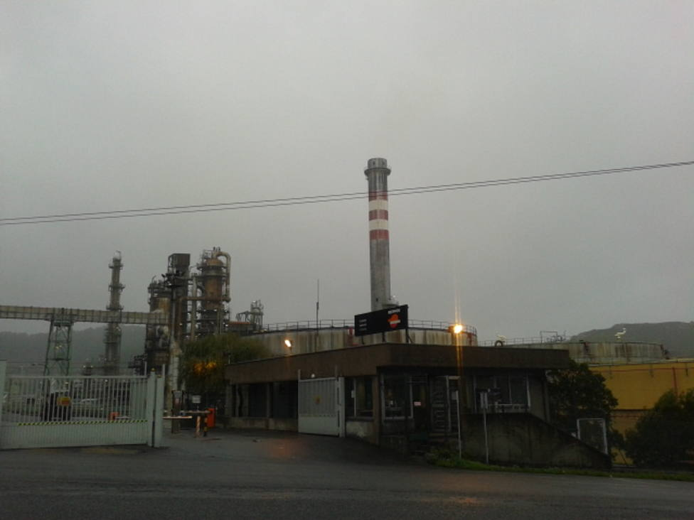 Refinería de Repsol en A Coruña