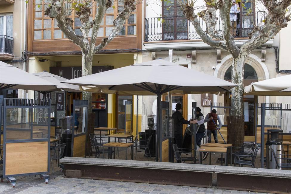 Foto terraza de hostelería (Europa Press)