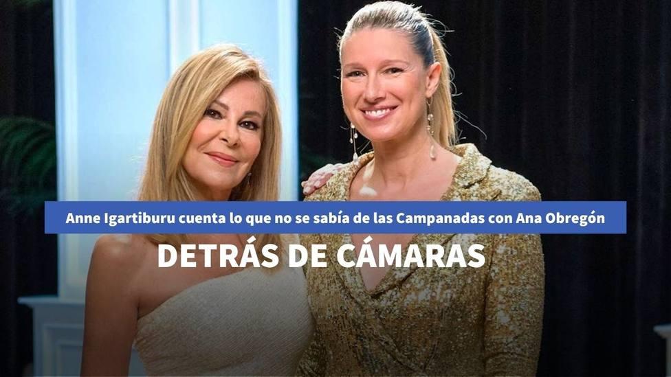 Anne Igartiburu cuenta lo que no se sabía de las Campanadas con Ana Obregón: detrás de las cámaras