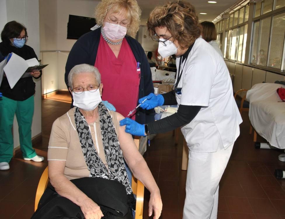 Vacunación residencia