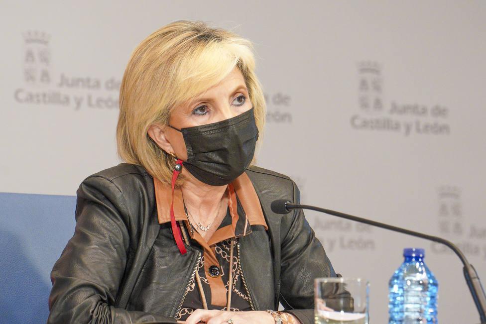 Verónica Casado, consejera de Sanidad de la Junta en Soria