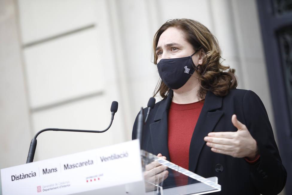 Colau cree que Iglesias es el rival fuerte de Ayuso y de propuesta neofascista