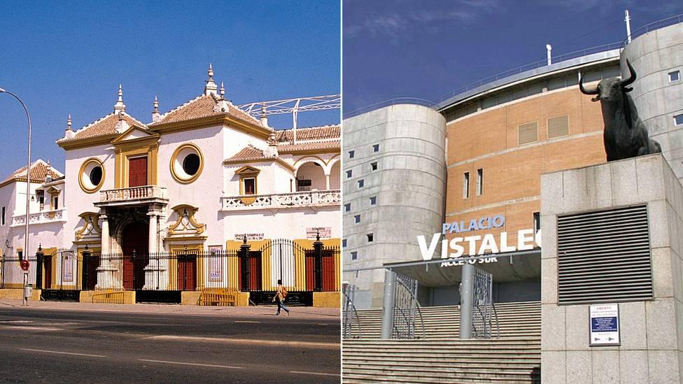 La Real Maestranza de Sevilla y el Palacio Vistalegre de Madrid, pendientes de decisiones políticas