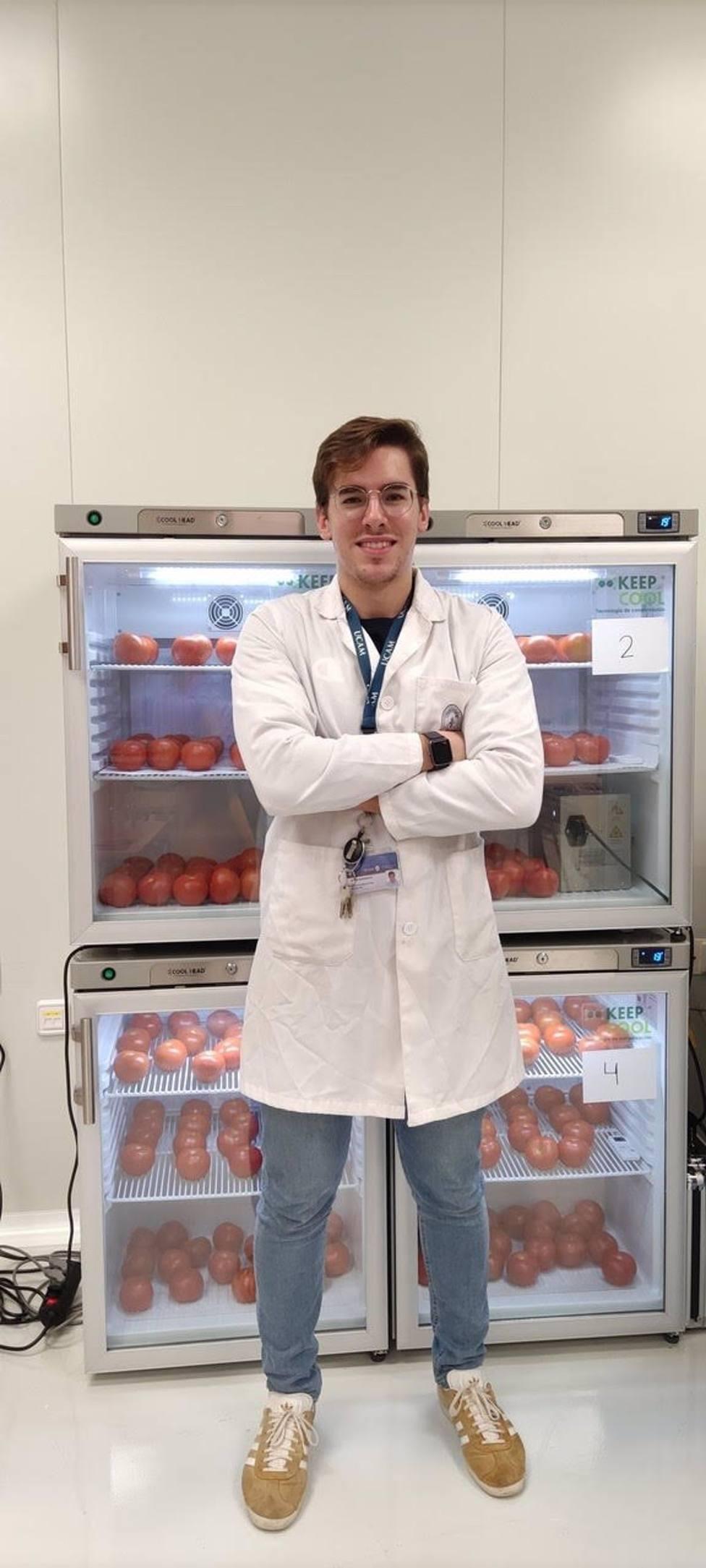 Tesis doctoral UCAM prueba en tomates del Bajo y Alto Guadalentín unos filtros eliminadores de etileno