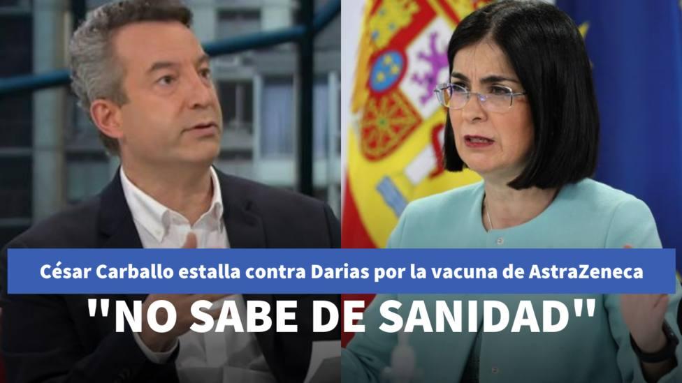 César Carballo estalla contra Darias