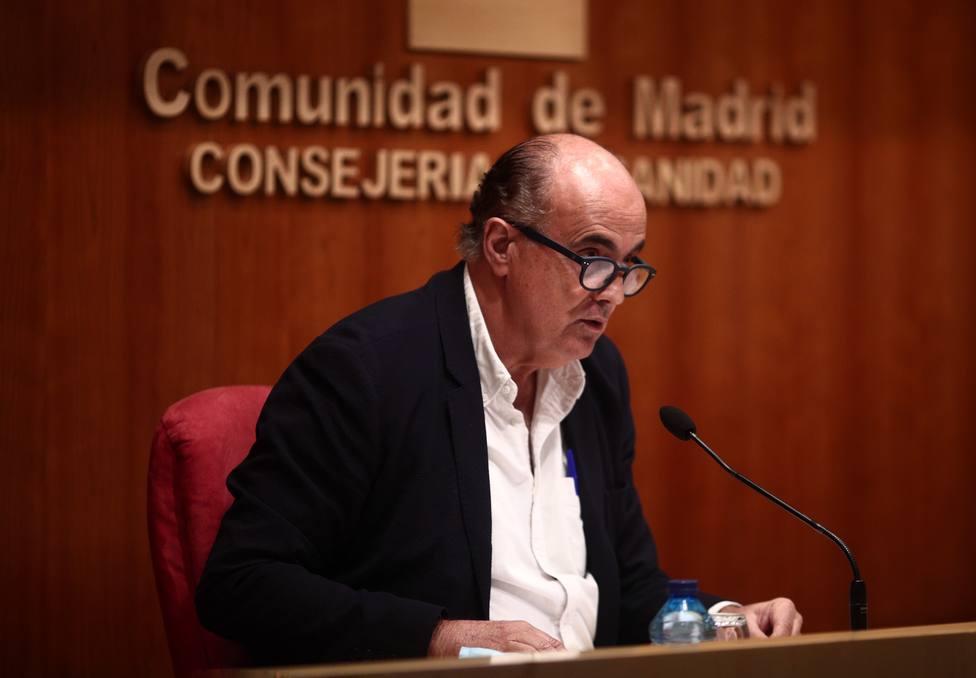 Madrid notifica 496 casos nuevos, 377 de las últimas 24 horas, y 19 fallecidos