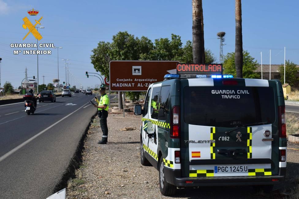 La Guardia Civil investiga a un conductor que circulaba a 237 km/h en la A-45 en Córdoba