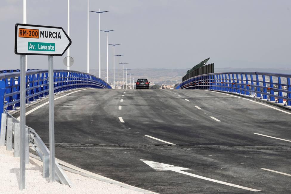 Apertura al tráfico de un tramo de la nueva autovía del Reguerón