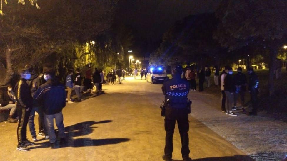 Menos botellones pero aumentan las molestias por fiestas en viviendas de Logroño
