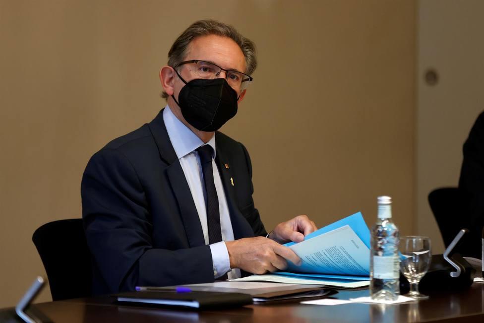 El consejero de Economía del Gobierno de la Generalitat Jaume Giró