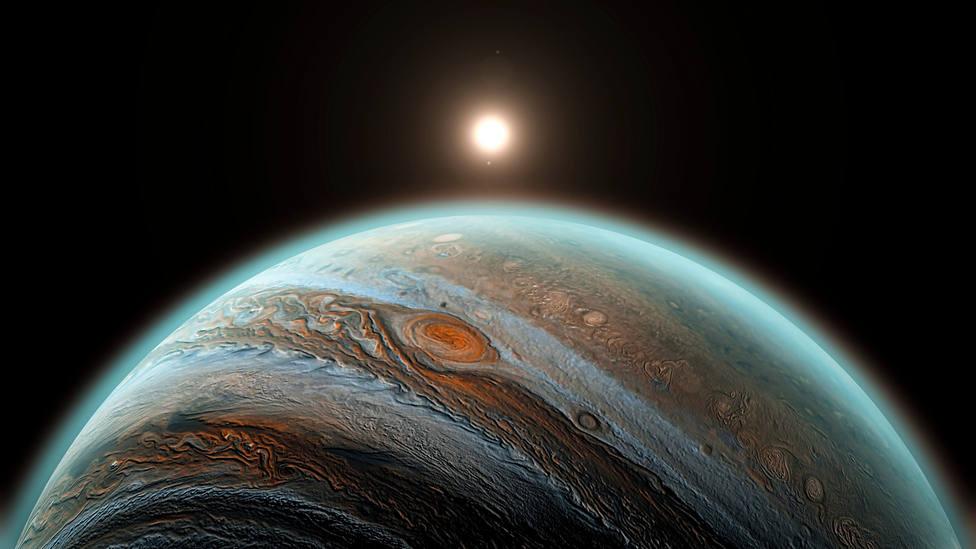 La nubes de Júpiter podrían ser habitables