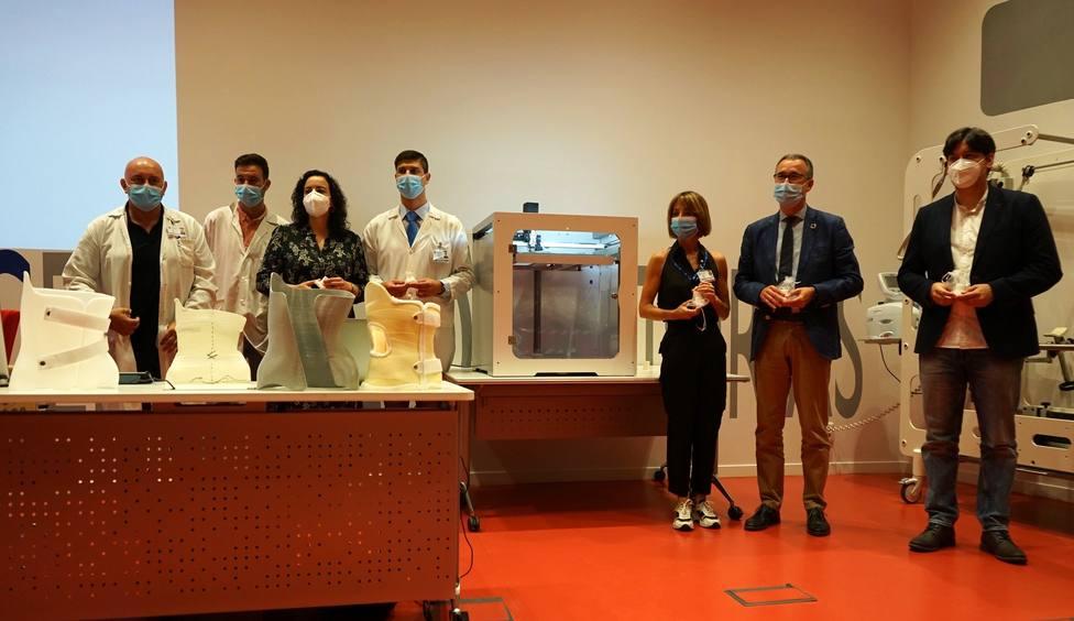 Presentación del corsé obtenido por impresión en 3D