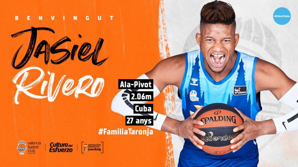 Valencia Basket firma a Jasiel Rivero hasta 2023