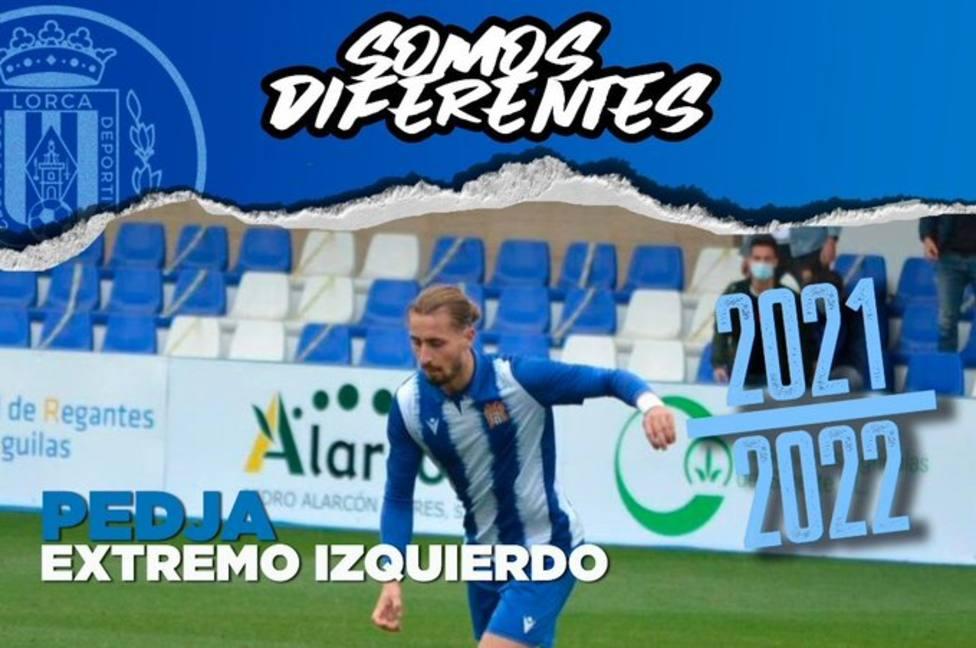Pedja, nuevo jugador del CF Lorca Deportiva