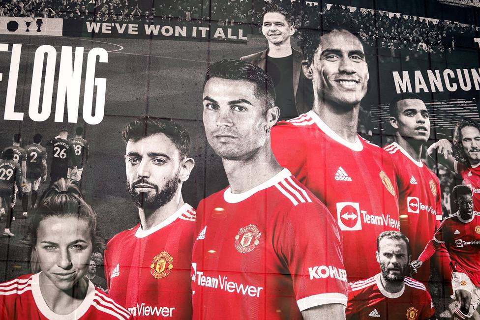 Manchester United Player Mural - Old Trafford