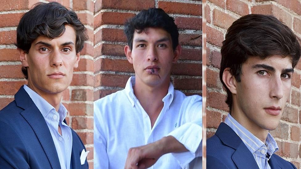 Carlos Domínguez, Isaac Fonseca y Manuel Perera, finalistas del Circuito del Norte