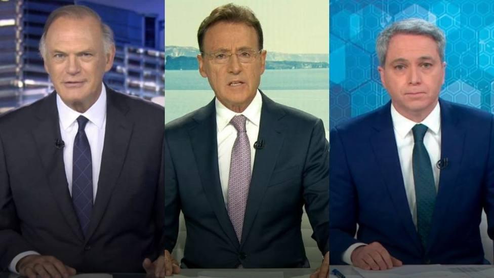 ¿Los reconoces?: Así han cambiado los principales rostros de la televisión en los últimos años
