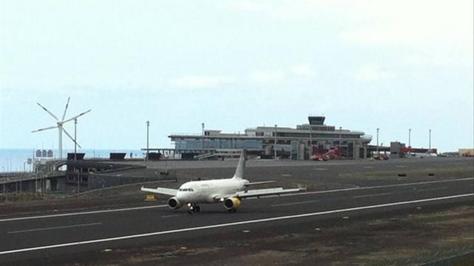 Avión La Palma