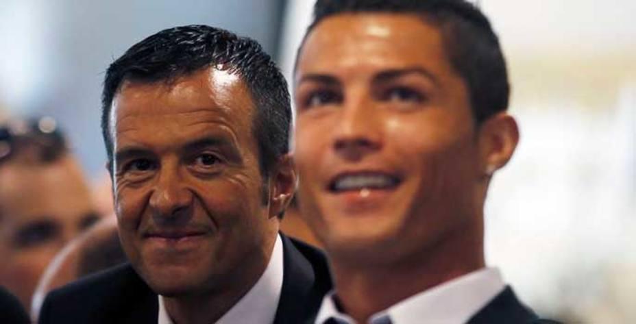 Jorge Mendes, agente de Cristiano Ronaldo.