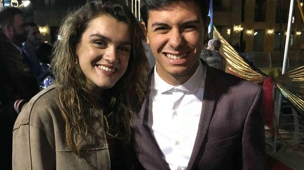 Amaia y Alfred aterrizan en Tel Aviv para promocionar su candidatura eurovisiva