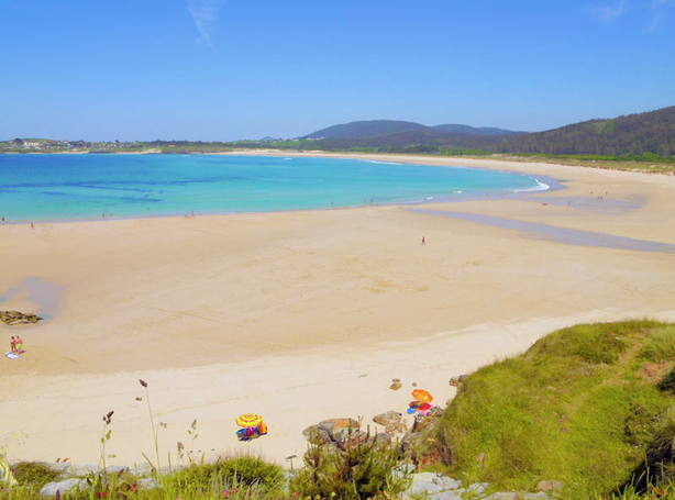 En la playa de San Jorge, en Ferrol, se produjo, uno de los dos fallecimientos de estos pasados días