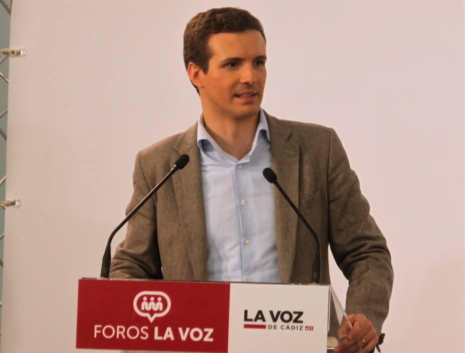 Casado dice que Cosidó cometió una torpeza pero debe ser justo y que con el CGPJ ha aprendido a no pactar con Sánchez