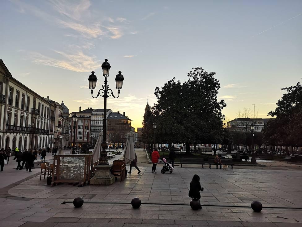 Lugo Monumental dice que el patrimonio de la ciudad sigue sin protección contra los vándalos