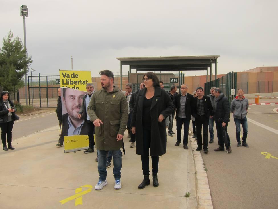 ERC celebra que haya acto electoral de Sànchez (JxCat) y lo ve una derrota del Estado