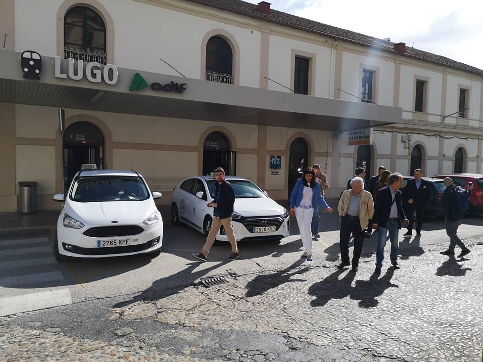 """Nart dice que dejar a Lugo fuera de la conexión ferroviaria es """"hipotecar su futuro"""""""