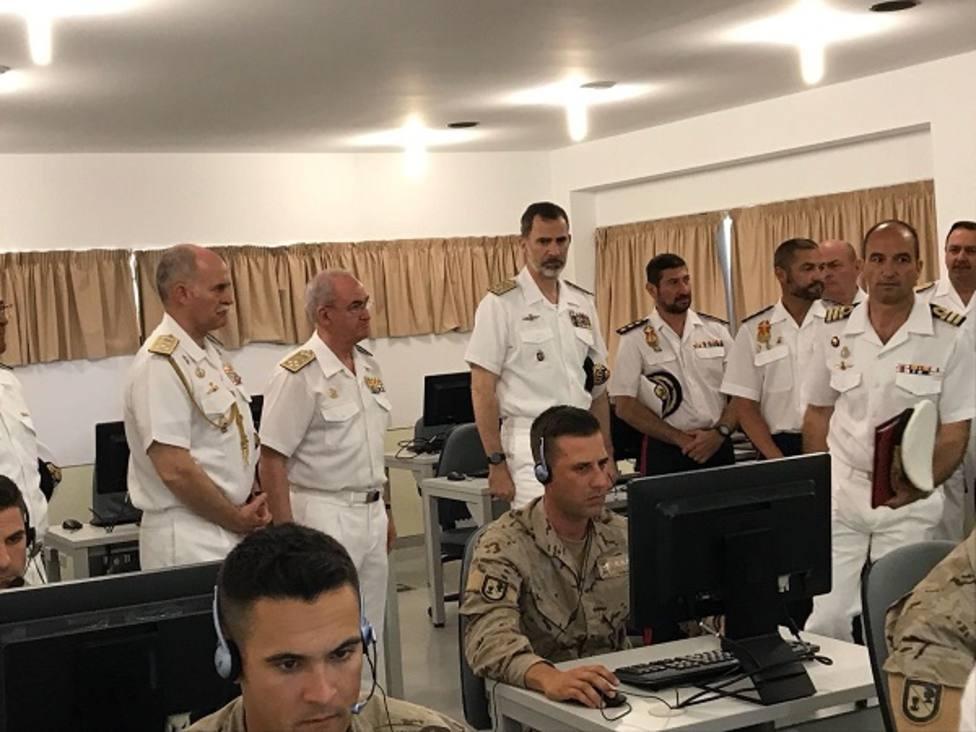 El Rey asistirá el próximo viernes al ejercicio de salvamento y rescate de submarinos Cartago 19