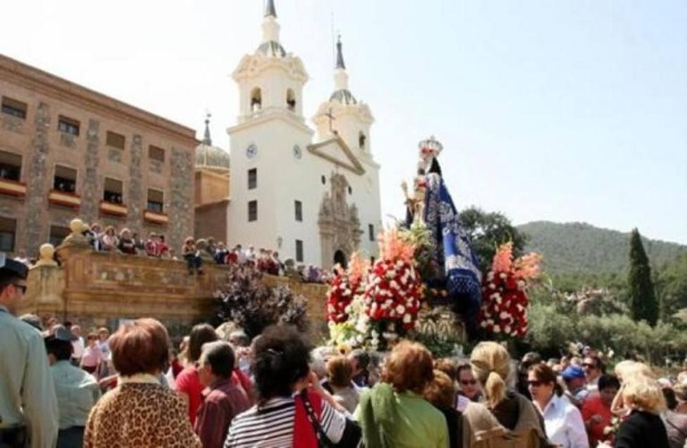 Llegada de la Virgen de la Fuensanta a la Santuario