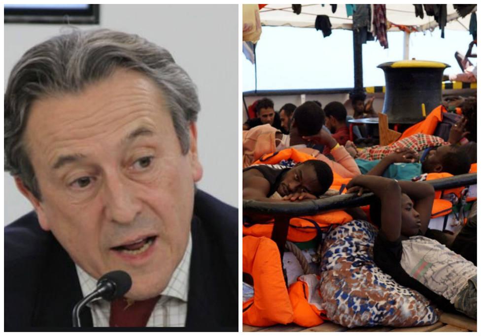 La polémica advertencia del eurodiputado de Vox Hermann Tertsch en torno al Open Arms: Todo es mentira