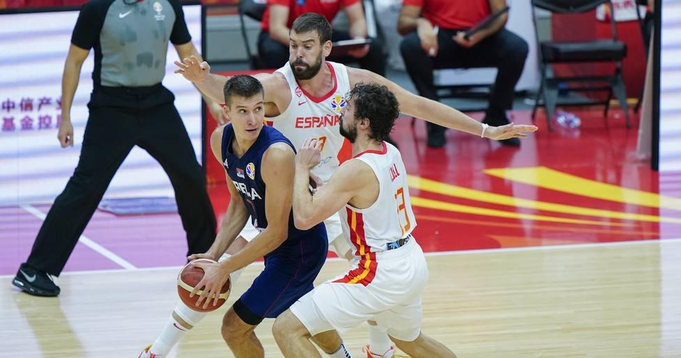 Baloncesto/Selección.- Crónica del España - Serbia, 81-69