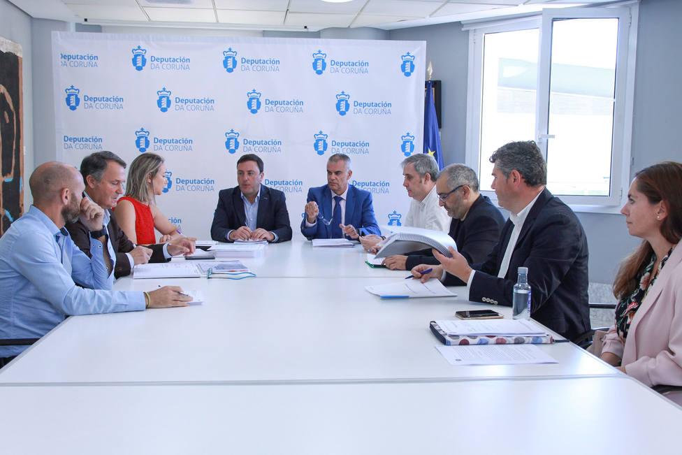 Imagen reunión pleno del Consorcio