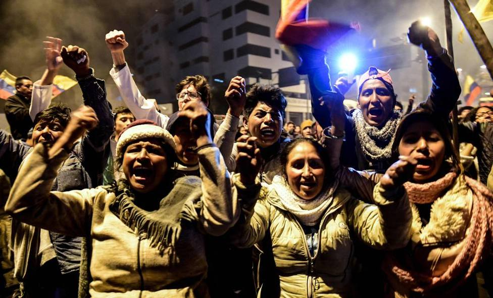Así doblegaron los indígenas al presidente ecuatoriano Lenín Moreno