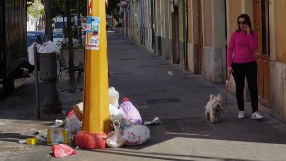 Basura en València