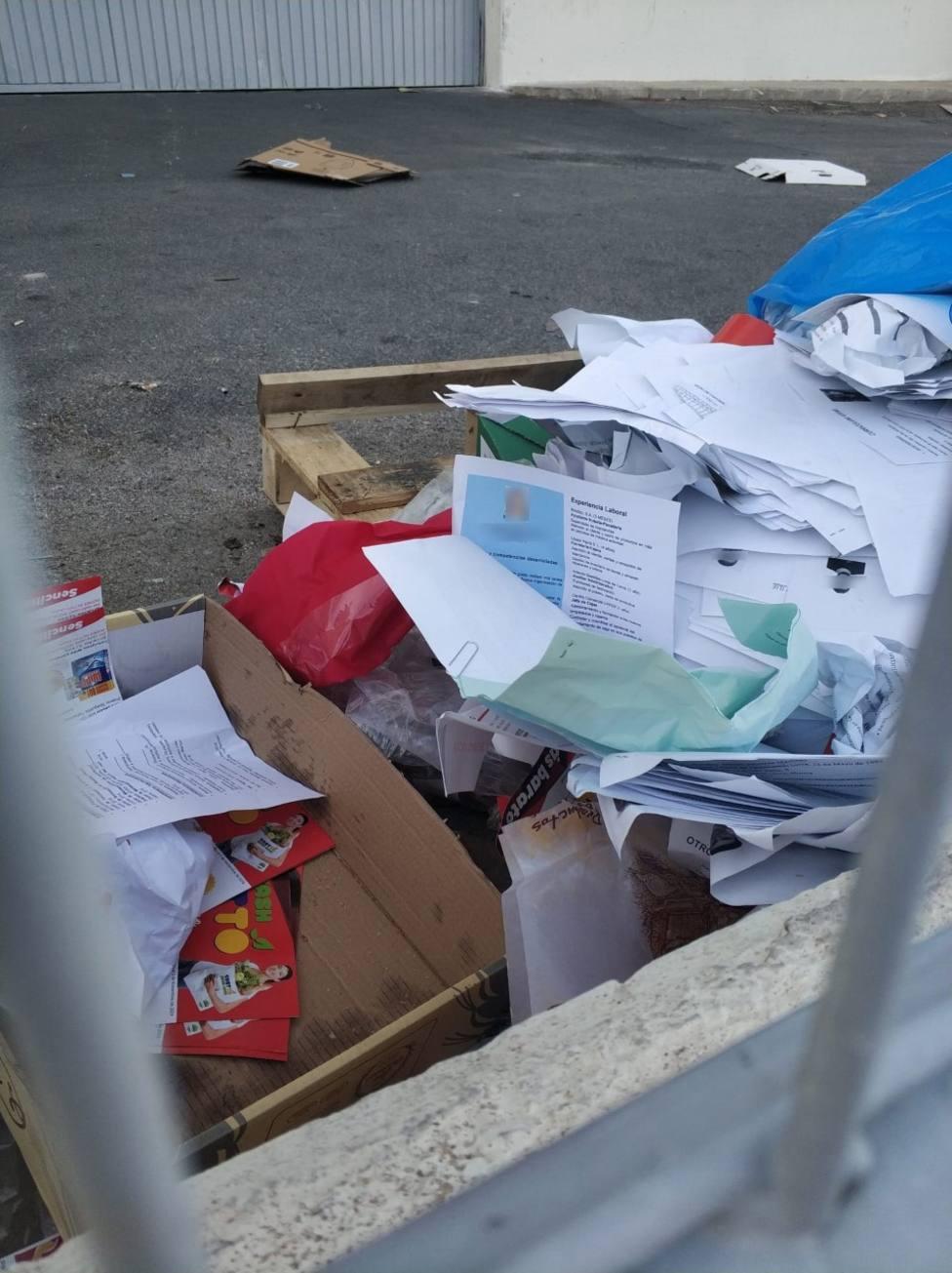IU-Verdes advierte de la violación de datos personales de los solicitantes de empleo en un economato