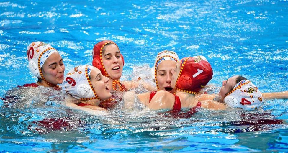 Las Guerreras del agua, campeonas de Europa