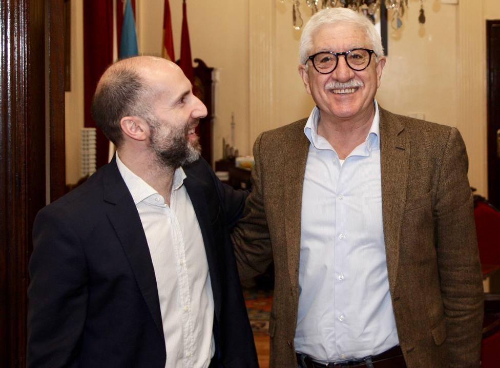 Gonzalo Pérez Jácome y Orlando Alves