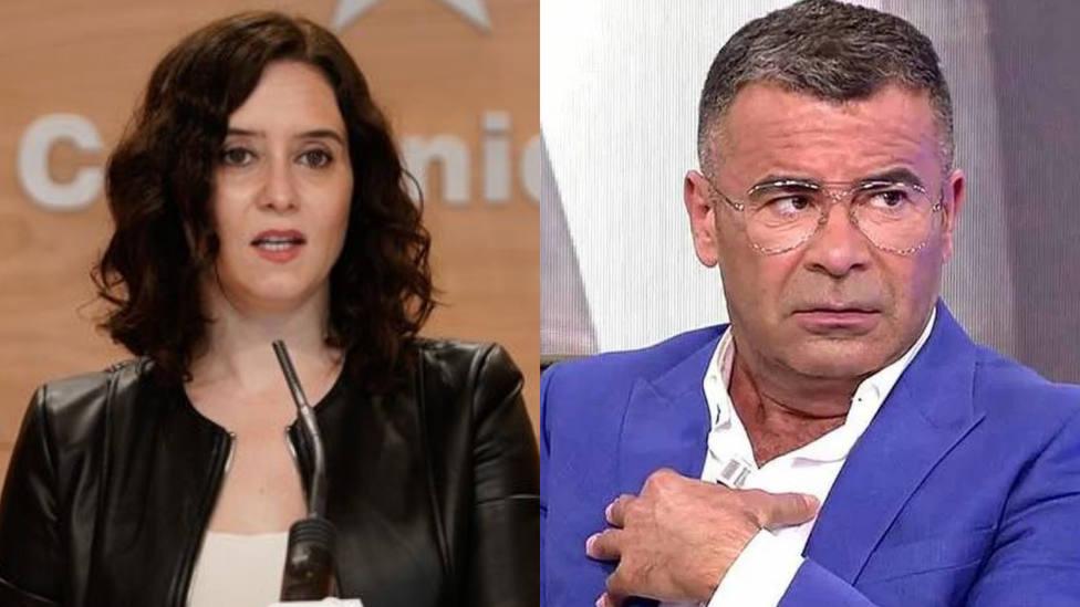 Isabel Díaz Ayuso y Jorge Javier Vázquez