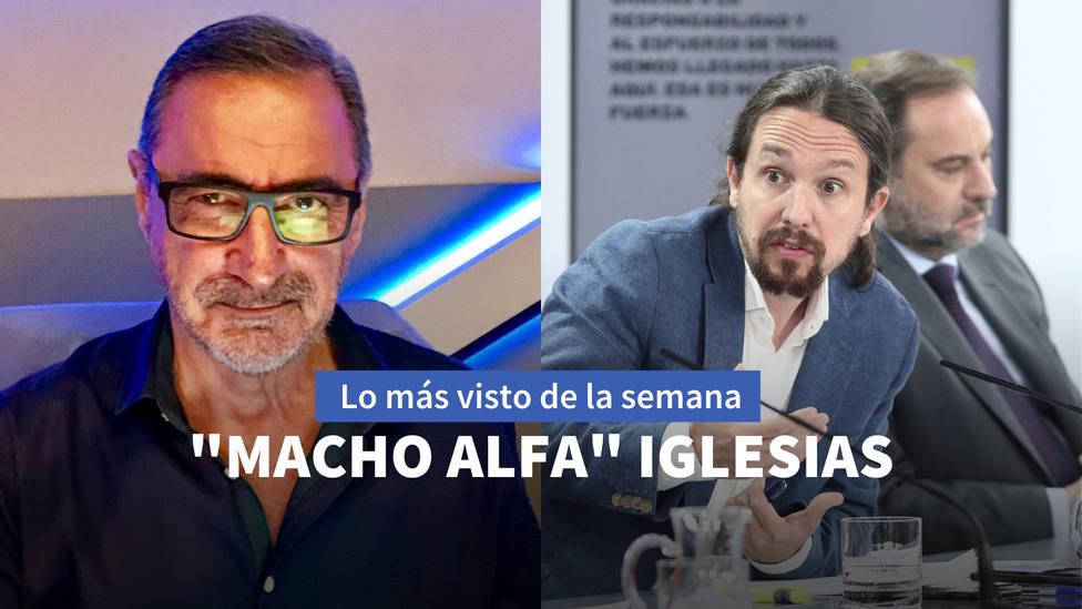 La lección de Herrera al macho alfa Iglesias entre lo más visto de esta semana