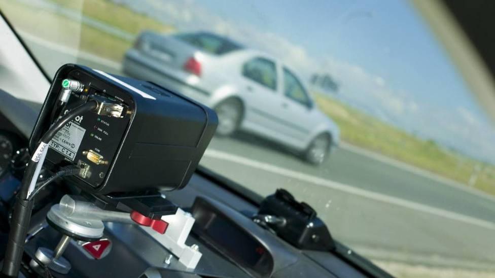 Detectado un vehículo a más de 100 km/h en el casco urbano de Lugo