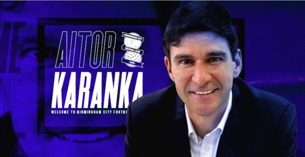 Aitor Karanka, nuevo entrenador del Birmingham City