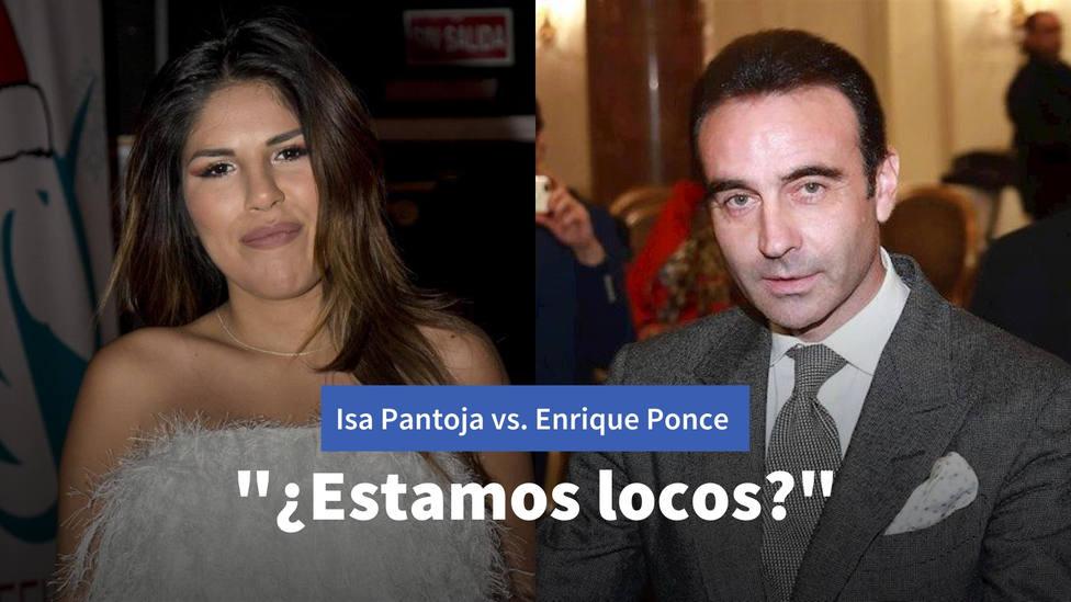 Isa Pantoja arremete contra el último acto protagonizado por Enrique Ponce: ¿Estamos locos?