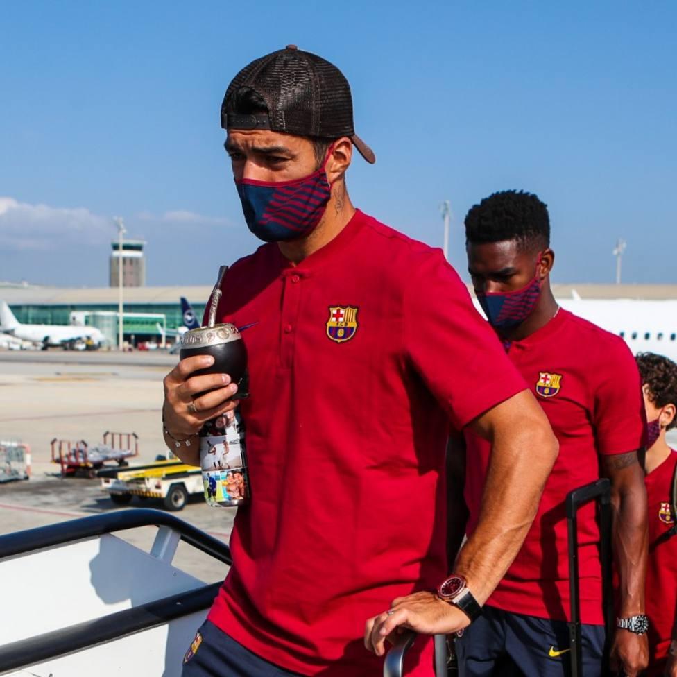El Barça viaja a Lisboa con Messi como principal argumento para luchar la Champions